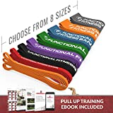 RubberBanditz FF Pull Up Assistance & Resistance Exercise Bands | Assist Training Bands for Powerlifting, Mobility, Functional Fitness