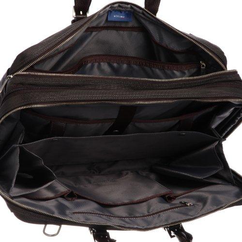 [ウルティマ トウキョウ] ultima tokyo varietas ベルナルド ハンドル長さ調整機能付きビジネスバッグ(B4サイズ・2気室・エキスパンダブル・ソフトパイル生地ポケット付き・ペットボトルホルダー付き・PCポケット付き・中仕切り付き・パスケース付き) 28809 09 (ブラウン)