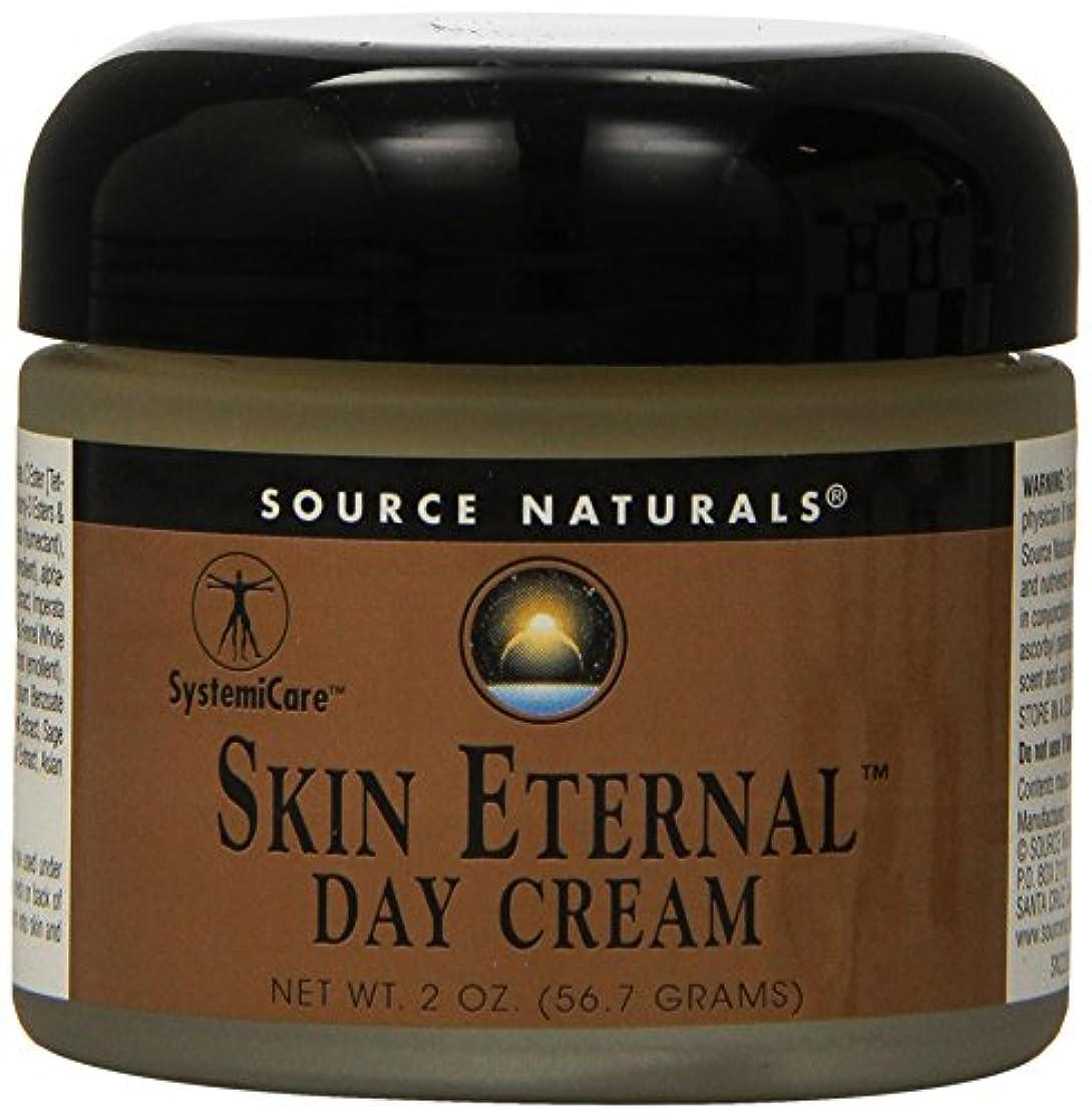 柔和標準反応する海外直送品 Source Naturals Skin Eternal Day Cream, 2 OZ