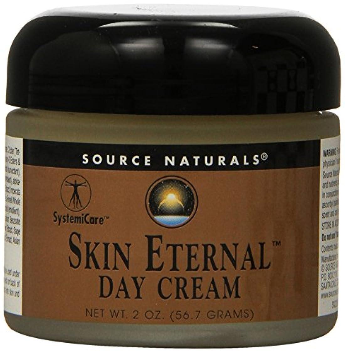 トンネル巡礼者取り除く海外直送品 Source Naturals Skin Eternal Day Cream, 2 OZ