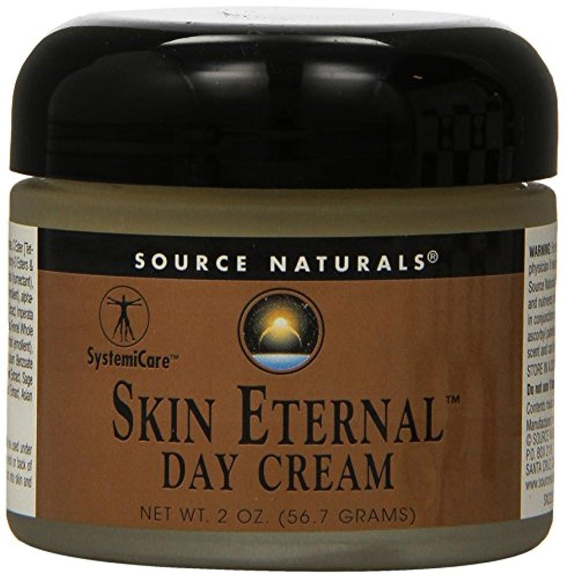識字司書副詞海外直送品 Source Naturals Skin Eternal Day Cream, 2 OZ