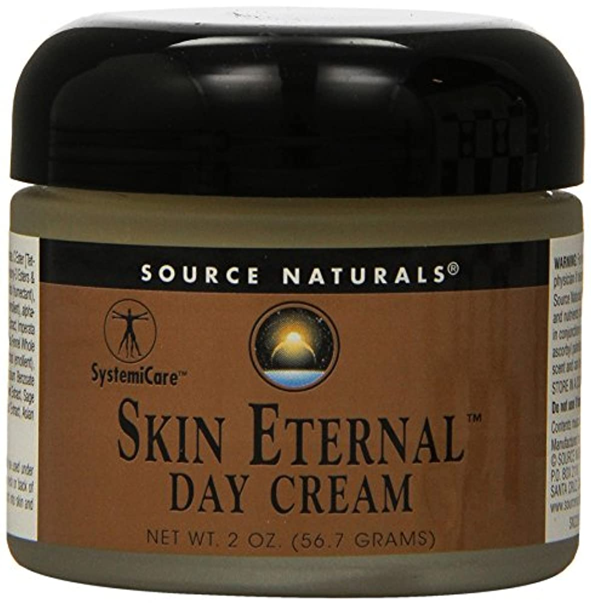 夜鑑定契約した海外直送品 Source Naturals Skin Eternal Day Cream, 2 OZ