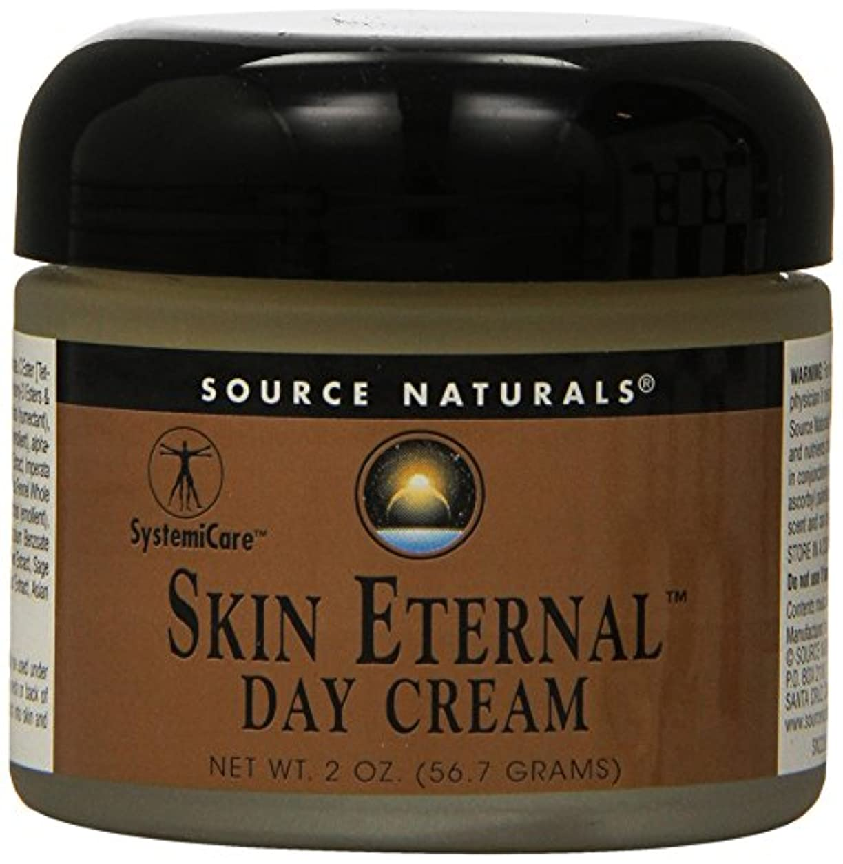 従来の木材成熟海外直送品 Source Naturals Skin Eternal Day Cream, 2 OZ