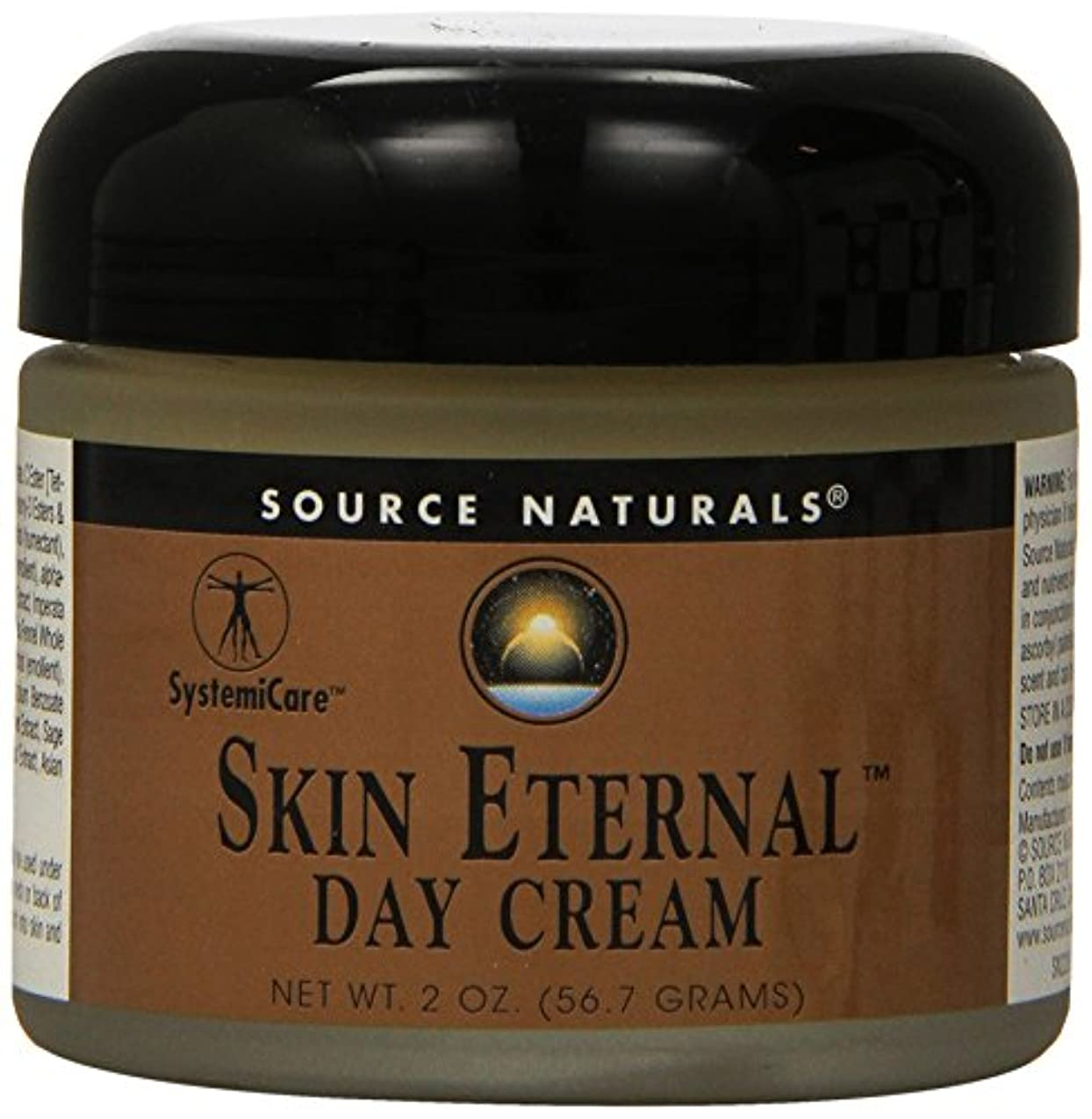 除外するさわやか材料海外直送品 Source Naturals Skin Eternal Day Cream, 2 OZ