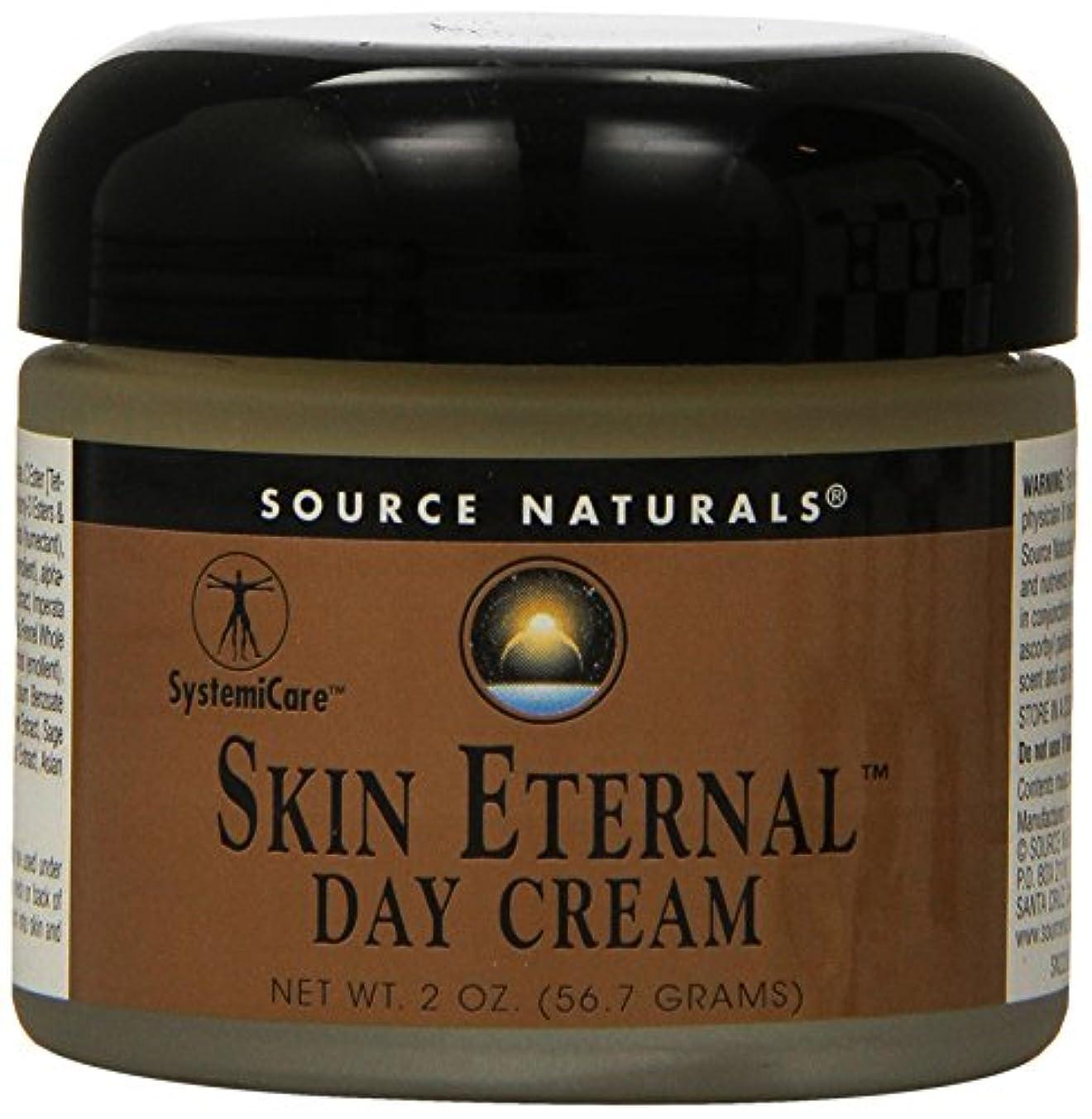 ハイランド虐殺司法海外直送品 Source Naturals Skin Eternal Day Cream, 2 OZ