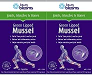 Henry Blooms 500mggreen Lipped Mussel with BioP Twin Pack