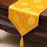 テーブルランナー ホームデコレーション 中国古典的なスタイル おしゃれ 長方形 エレガント 結婚式 (Size : 33*150cm)