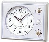 セイコー クロック 目覚まし時計 アナログ マルチサウンドアラーム ピンク NR445H SEIKO