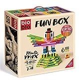 ビオブロ ファンボックス(洗える木製つみ木)/Bioblo Fun box 200ピース