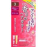 ホーユー ビゲン 香りのヘアカラー クリーム 3 (明るいライトブラウン) 40g+40g