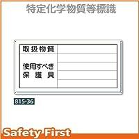 ユニット 取扱物質 使用すべき保護具 815-36 鉄板(明治山・穴4スミ)300×600