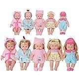 お人形遊び きせかえセット バスローブ 水着 6着セット 26-30cmのお人形に