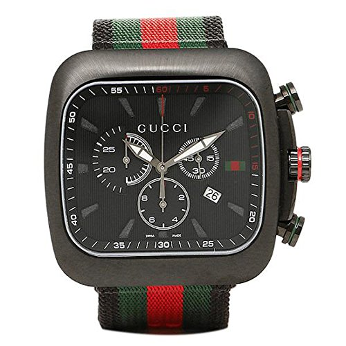 (グッチ) GUCCI グッチ 時計 メンズ GUCCI YA131202 クーペ クロノグラフ 腕時計 ウォッチ ブラック マルチ [並行輸入品]