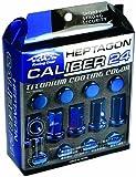 KYO-EI [ 協永産業 ] HEPTAGON CALIBER 24 [ M12×P1.25 ] IPフ゛ルー [ 個数:20P ] [ 品番 ] HPC-03