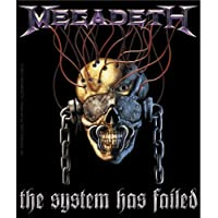 Licences Products Megadeth System Has Failed Sticker