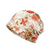 LOLONG ニット帽 おしゃれ 薄手 柔らか素材 キューティクル パサつき予防 抜け毛防止
