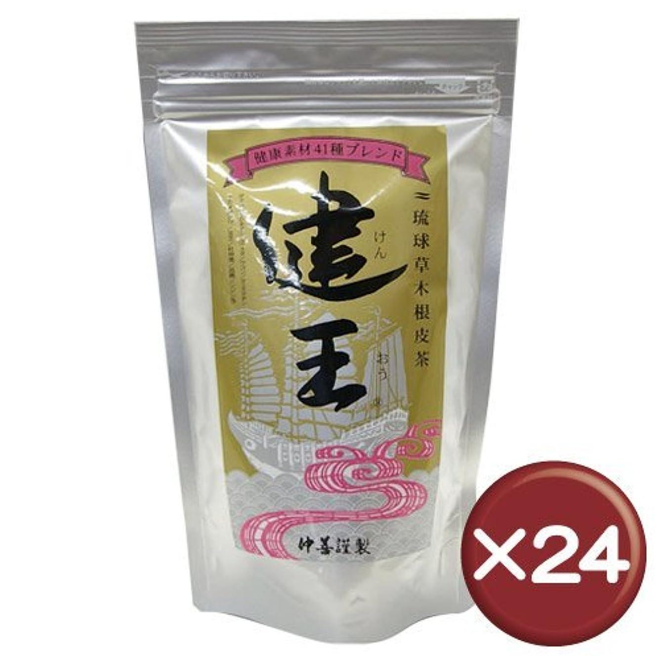 ビタミン辞書矢じり琉球草木根皮茶 健王 ティーバッグ 2g×30包 24袋セット
