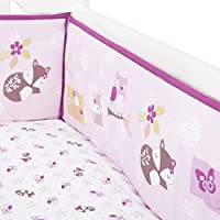 Bedtime Originals Lavender Woods Bumper by Lambs & Ivy