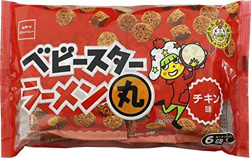 ベビースターラーメン丸 チキン 6袋入 袋138g