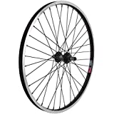 Wheel Master Rear Bicycle Wheel 24 x 1.75 36H, Alloy, Quick Release, Black by WheelMaster