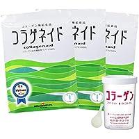 【ニッタバイオラボ】<International shipping・海外発送可能><3 bags with bottle>コラゲネイド3袋ボトルセットEM