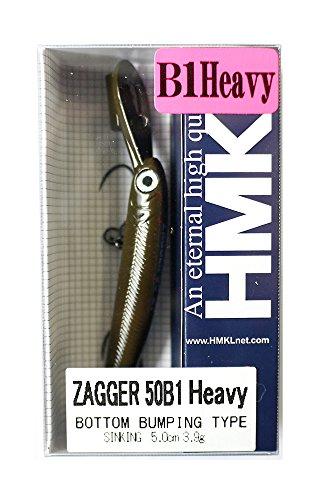 HMKL(ハンクル) ルアー ザッガー 50 B1 Heavy チョコビー.