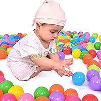 toyofmine オーシャンボール ベビーキッズおもちゃ カラフルな楽しいボール ソフトプラスチックスイムピットトイ 50 TH000020*50
