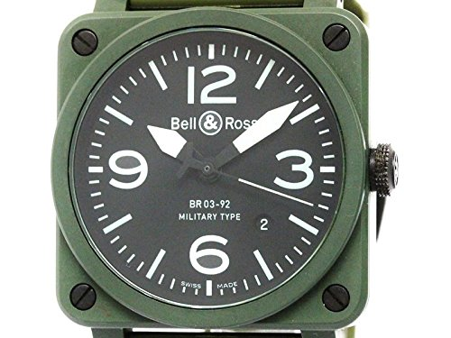[ベル&ロス]Bell&Rossベル&ロス ミリタリー セラミック ラバー 自動巻き メンズ 時計BR03-92(BF306569)[中古]