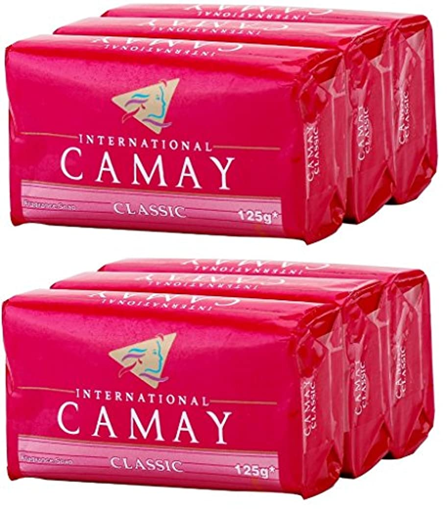 住居少しデッドロックCamay Softly Scented Bath Bar Soap, Classic, 4.0 oz bars, 3 each, by Camay