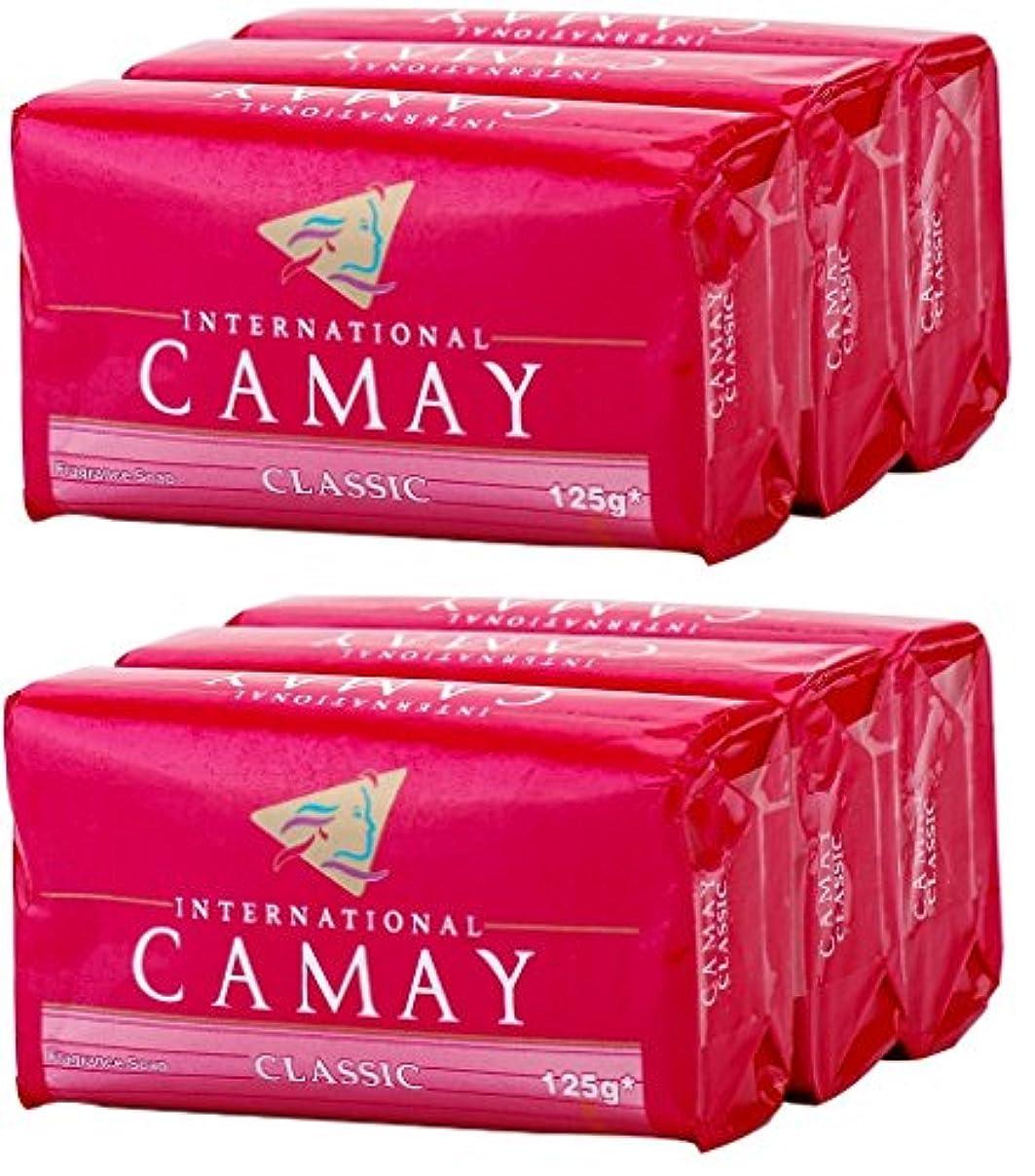 対角線毛細血管ほうきCamay Softly Scented Bath Bar Soap, Classic, 4.0 oz bars, 3 each, by Camay
