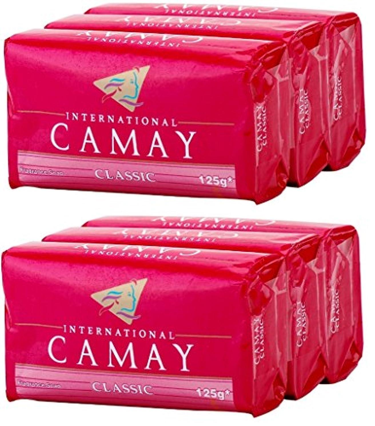 アルコーブ暴君ブルジョンCamay Softly Scented Bath Bar Soap, Classic, 4.0 oz bars, 3 each, by Camay