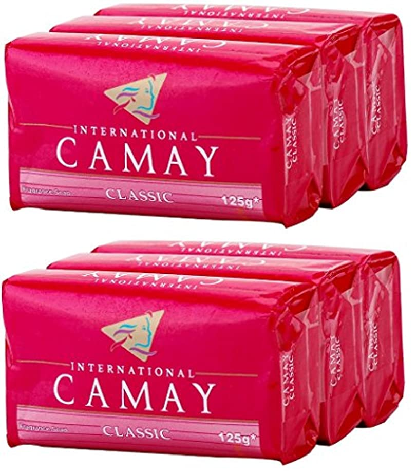 スプーン最も統合Camay Softly Scented Bath Bar Soap, Classic, 4.0 oz bars, 3 each, by Camay