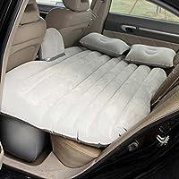 車のインフレータブルベッドカー車のベッドの車のマットレスPVCフロッキング車のインフレータブルベッドベージュ(マルチカラーオプション)ファイル付き