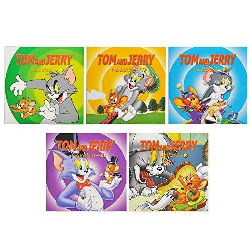 トムとジェリー DVD 5枚セット 【字幕・音声:日本語あり】 / 1枚9話 全45話