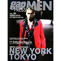 gap PRESS MEN〈VOL.18〉2009‐2010 AUTUMN & WINTER NEW YORK/TOKYO