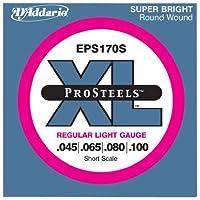 D'Addario Single Bass Pro Steel 080 Shor [並行輸入品]