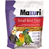 Mazuri   Nutritionally Complete for Small Birds   2.5 Pound (2.5 lb) Bag
