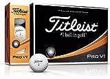 TITLEIST(タイトリスト) ゴルフボール Pro V1 ゴルフボール 12個 3ピース(ローナンバー) ユニセックス T2025S-J ホワイト