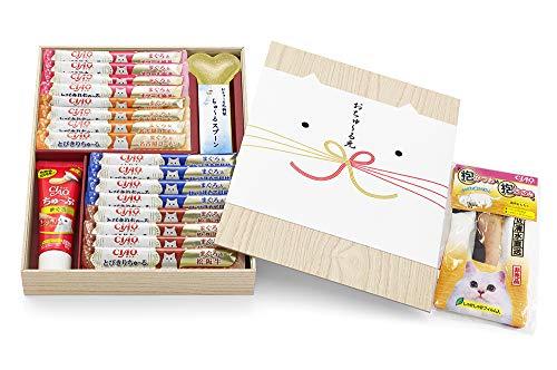 【プライムデー記念発売】チャオ (CIAO) ちゅ~る 猫用おやつ おちゅ~る元 2019 「抱かつお&抱ささみ」付き