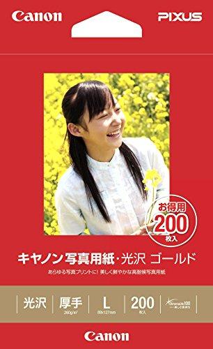 光沢 ゴールド GL-101L200 2310B002 [L 200枚]