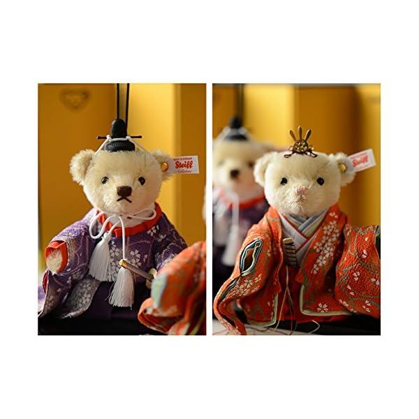 シュタイフ Steiff ひな人形テディベア ...の紹介画像5