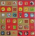 クラブニンテンドー2010年度プラチナ会員特典 スーパーマリオブラザーズ オリジナルバッジコレクション