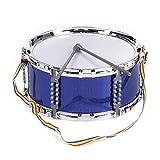 ammoon カラフル ドラム ジャズ スネアドラム 3色選択 音楽玩具 打楽器 子供 ドラムスティック ストラップ付き