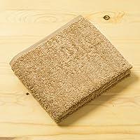 【世界三大コットンを使用 上質な肌触り 皇帝バスタオル】 タオルに最適なスーピマ綿を使用 シルクのような美しい光沢 綿100% 吸水速乾性と耐久性が高い (ベージュ色)