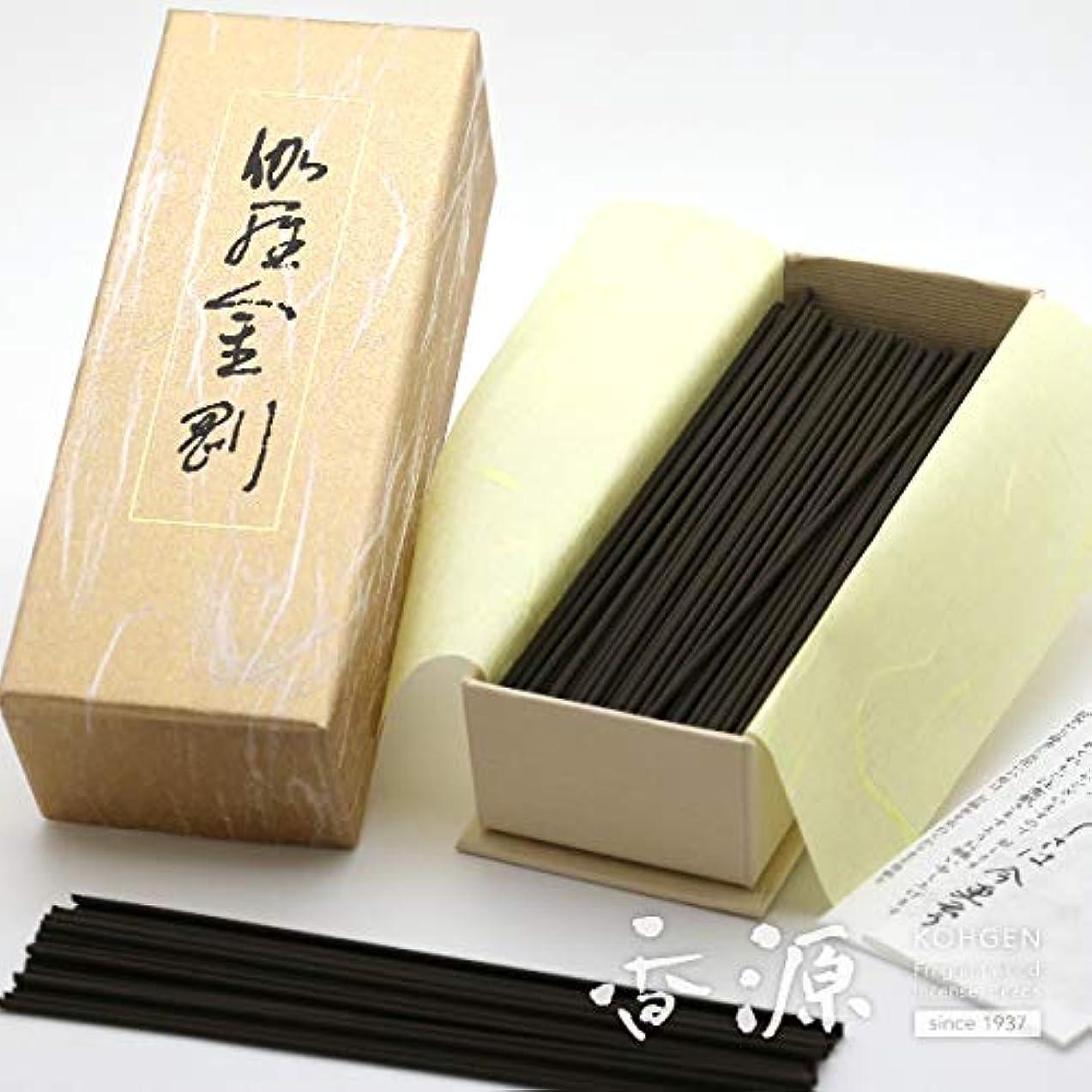 抗議無許可パッチ日本香堂のお線香 伽羅金剛 お徳用バラ詰