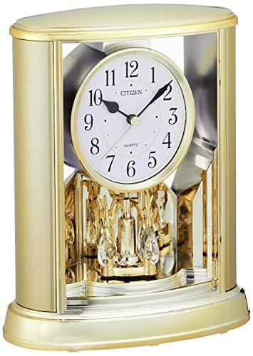 シチズン 置き時計クオーツサルーン回転飾り付 4SG724-018