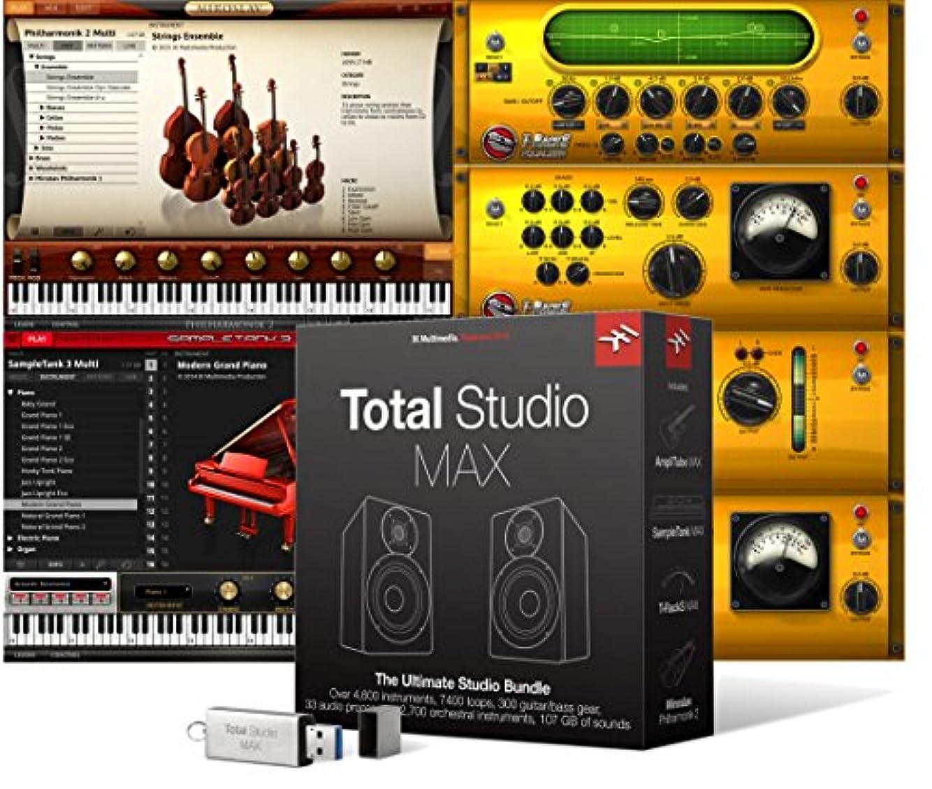 簡単にアコード差し迫ったIK Multimedia Total Studio MAX インストゥルメント&エフェクト?コレクション【国内正規品】