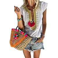 Dcharme Womens Pullover Long Sleeve Cowl Neck Color Block Striped Drawstring Sweatshirt Tops Pocket