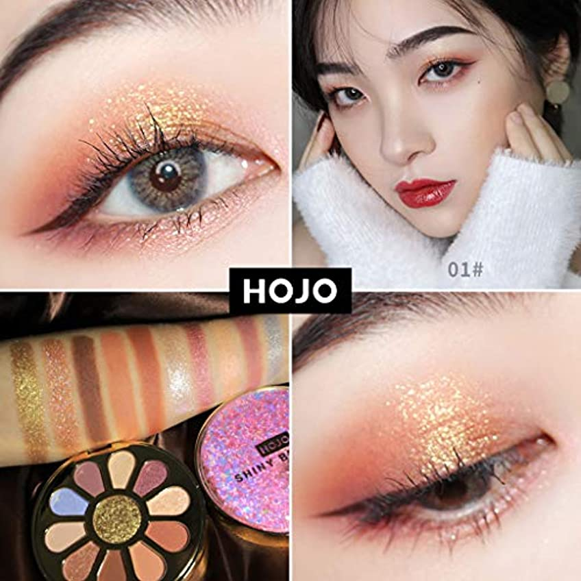 タイヤ登る悪いAkane アイシャドウパレット HOJO ファッション 魅力的 高級 美しい 優雅な 花 綺麗 キラキラ 素敵 持ち便利 日常 Eye Shadow (11色) 8031