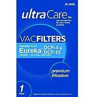 UltraCare UC47814 Vacuum Filter for Eureka type DCF-4, DCF-18 Upright [並行輸入品]